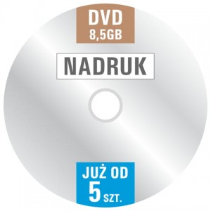 ND DVD+R8.5 - Nadruk DVD+R 8.5GB