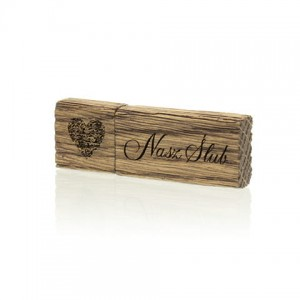 PZU16W/S - Pendrive Luxury Wood 16 GB USB 3.0