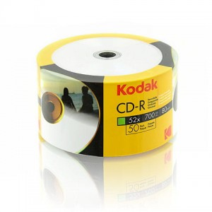 CD-RK50SP - Płyty CD-R Printable Kodak do nadruku, 50 szt.