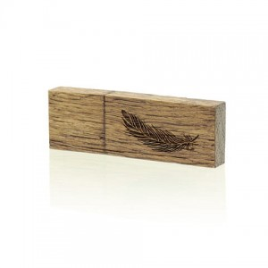 PZU64W/G - Pendrive Luxury Wood 64 GB USB 3.0