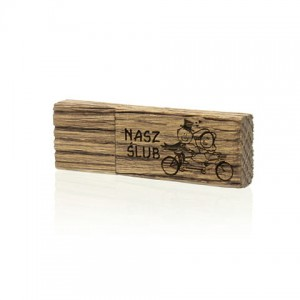 PZU64W/K - Pendrive Luxury Wood 64 GB USB 3.0