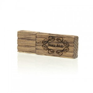 PZU128W/B - Pendrive Luxury Wood 128 GB USB 3.0