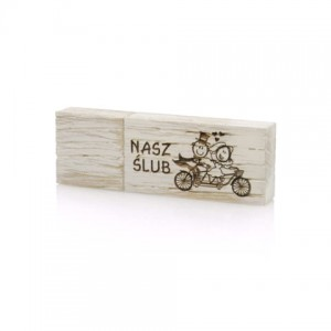 PZU128WB/K - Pendrive Luxury Wood 128 GB USB 3.0