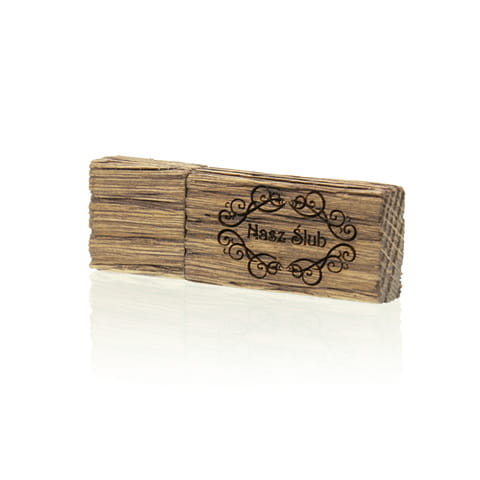 PZU32W/B - Pendrive Luxury Wood 32 GB USB 3.0
